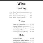 Seaport Cafe Wine - Back