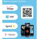 Best Buy Mobile QR Code Upgrade 8.5x11 Sign